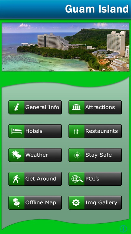 Guam Island Offline Map Travel Guide