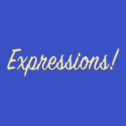 Expression White Stripes Stickers for iMessage