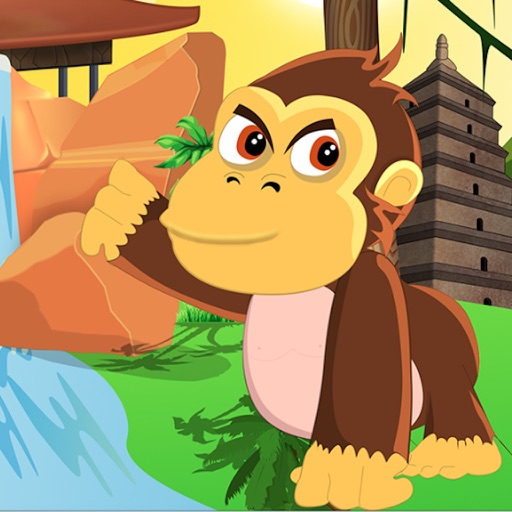Amazon Jungle Monkey Gold Hunting-A Joy Ride Fun iOS App