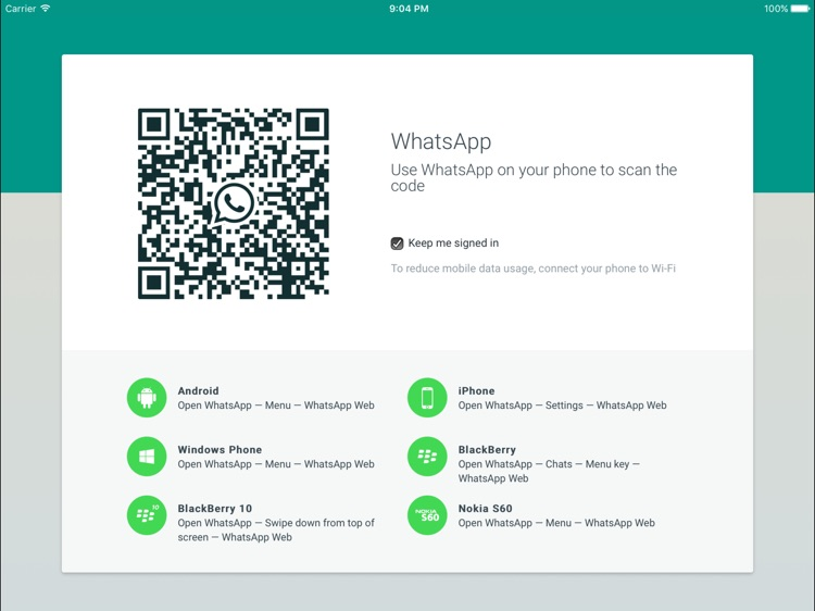 Messaging for Whatsapp Chat