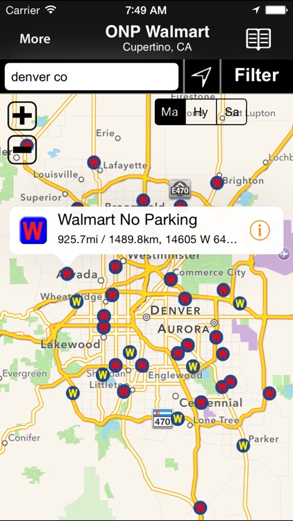 Walmart Overnight Parking Locator