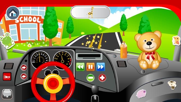 Baby School Bus - Drive Pretend Play Babies Games Screenshot