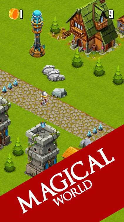 Hero Jump Quest - 3D Arcade Hopper Game screenshot-3