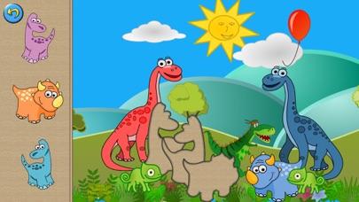 子供向けのディノ パズルゲームのスクリーンショット2