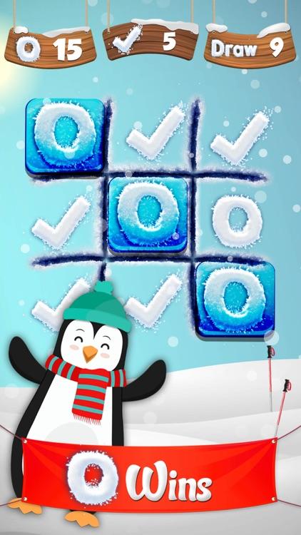 Frozen Tic Tac Toe - Free Fall