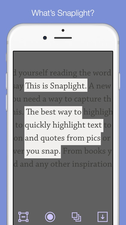 Snaplight - Photo Highlighter