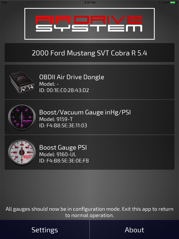 Screenshot #4 pour AirDrive System