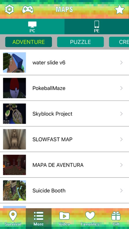 Survival Maps Guide for Minecraft Pocket Edition