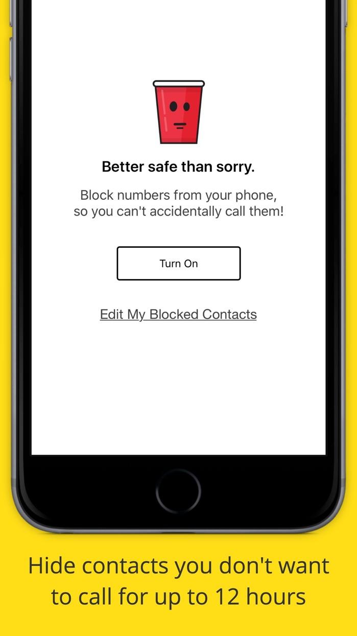 Drunk Mode – Call Blocker, Friend Finder & Parties Screenshot