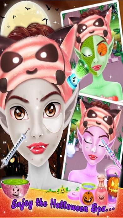 Crazy Halloween Salon for Girls - Kids game screenshot three