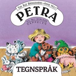 Petra vil bli dyrlege - på tegnspråk