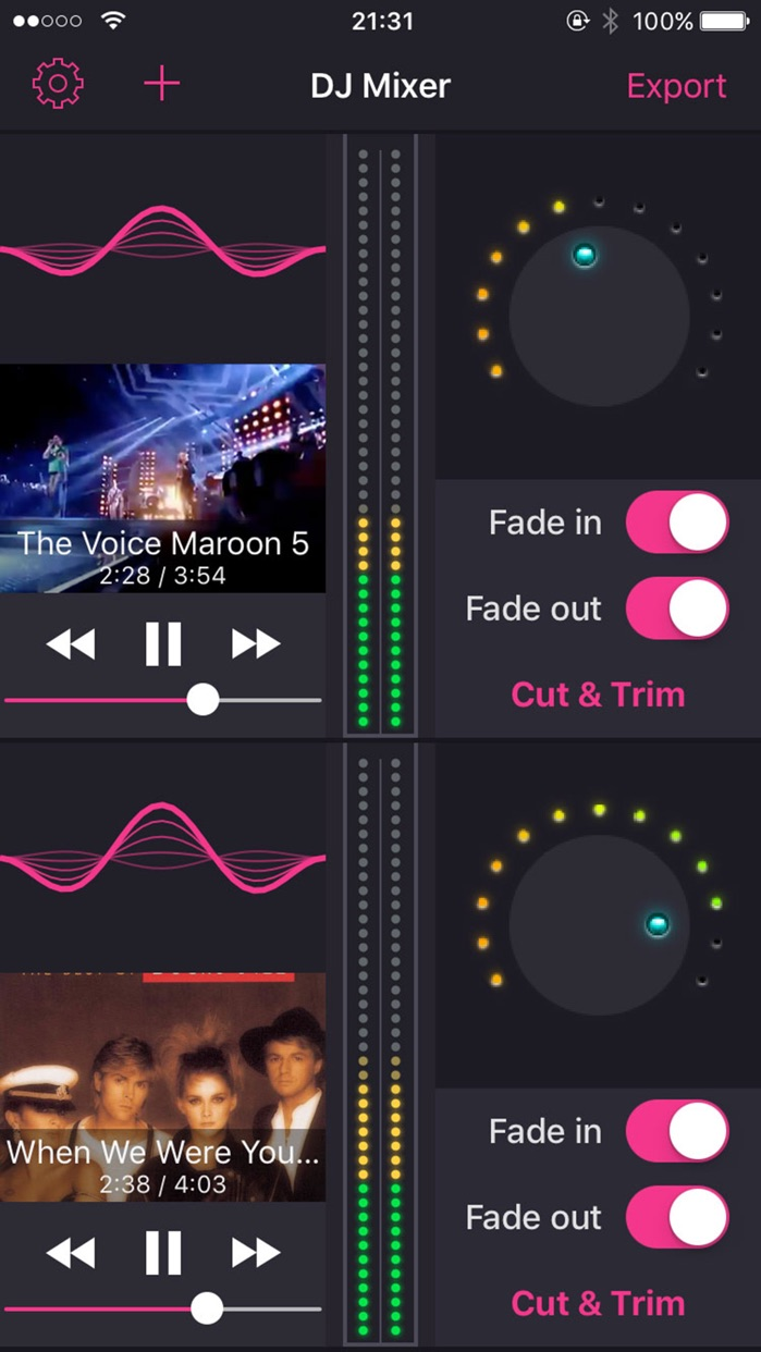 DJ Mixer - Mix pop song & Edit djay music Screenshot