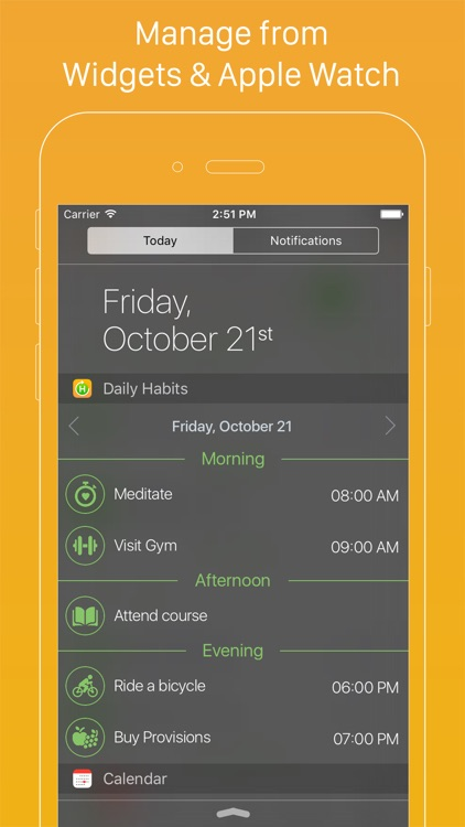 Daily Habits - Habit List and Routine Tracker screenshot-2