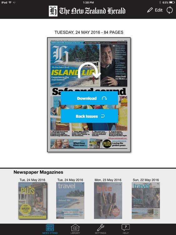NZ Herald e-Edition screenshot-4