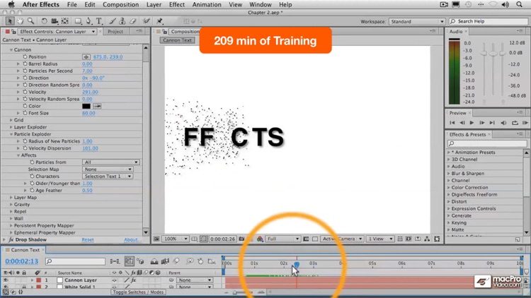 Course For After Effects Particle Playground screenshot-4