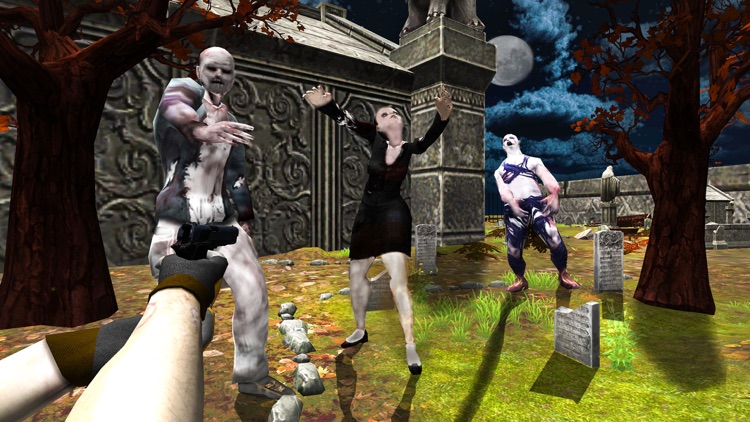 380707297b43 Zombie Graveyard Shooting- Dark Halloween Survival by Manzoor Ullah