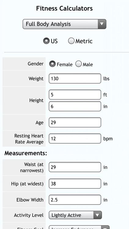 Fitness Calcs screenshot-4