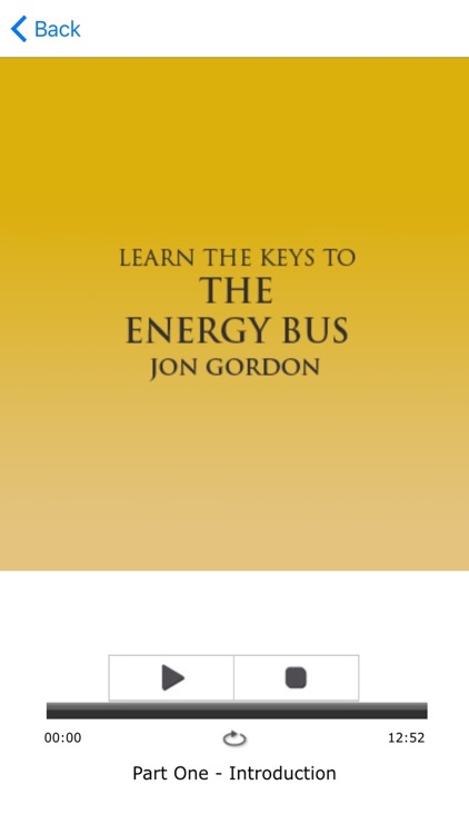 The Energy Bus by Jon Gordon Meditations Audiobook screenshot-3