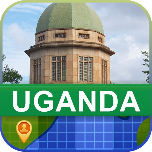 Offline Uganda Map - World Offline Maps