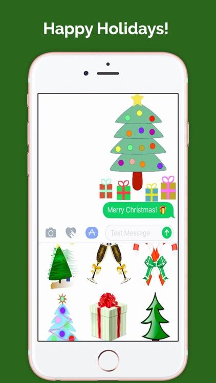 ChristmasMojis: Emoji Keyboard App screenshot-4