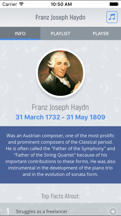 Joseph Haydn - Classical Music Full screenshot-0