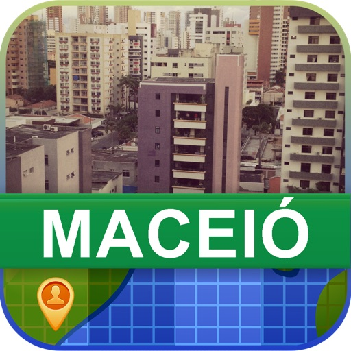 Offline Maceio, Brazil Map - World Offline Maps icon