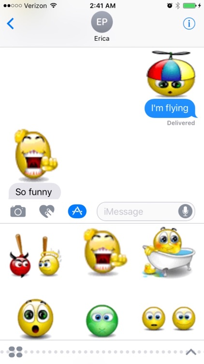 Animated Funny Smileys for iMessages