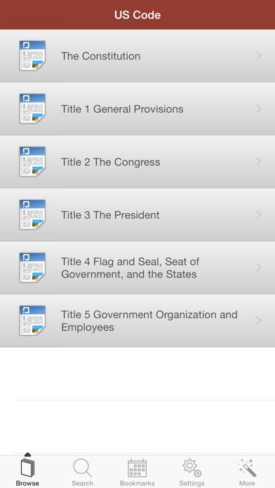 US Code of Federal Regulations screenshot four