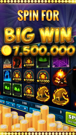 Halloween Slot Machine Game Screenshot