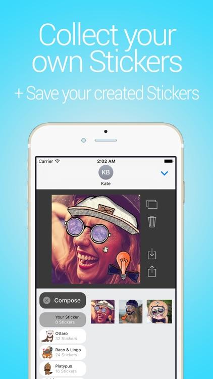 Cune Stickers - Make Your Own Sticker Emoji screenshot-3