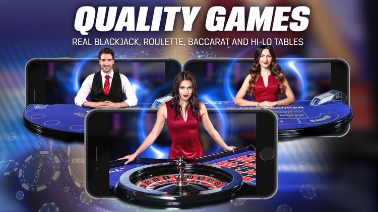 Coral Live Casino - Roulette, Baccarat & Blackjack screenshot-4