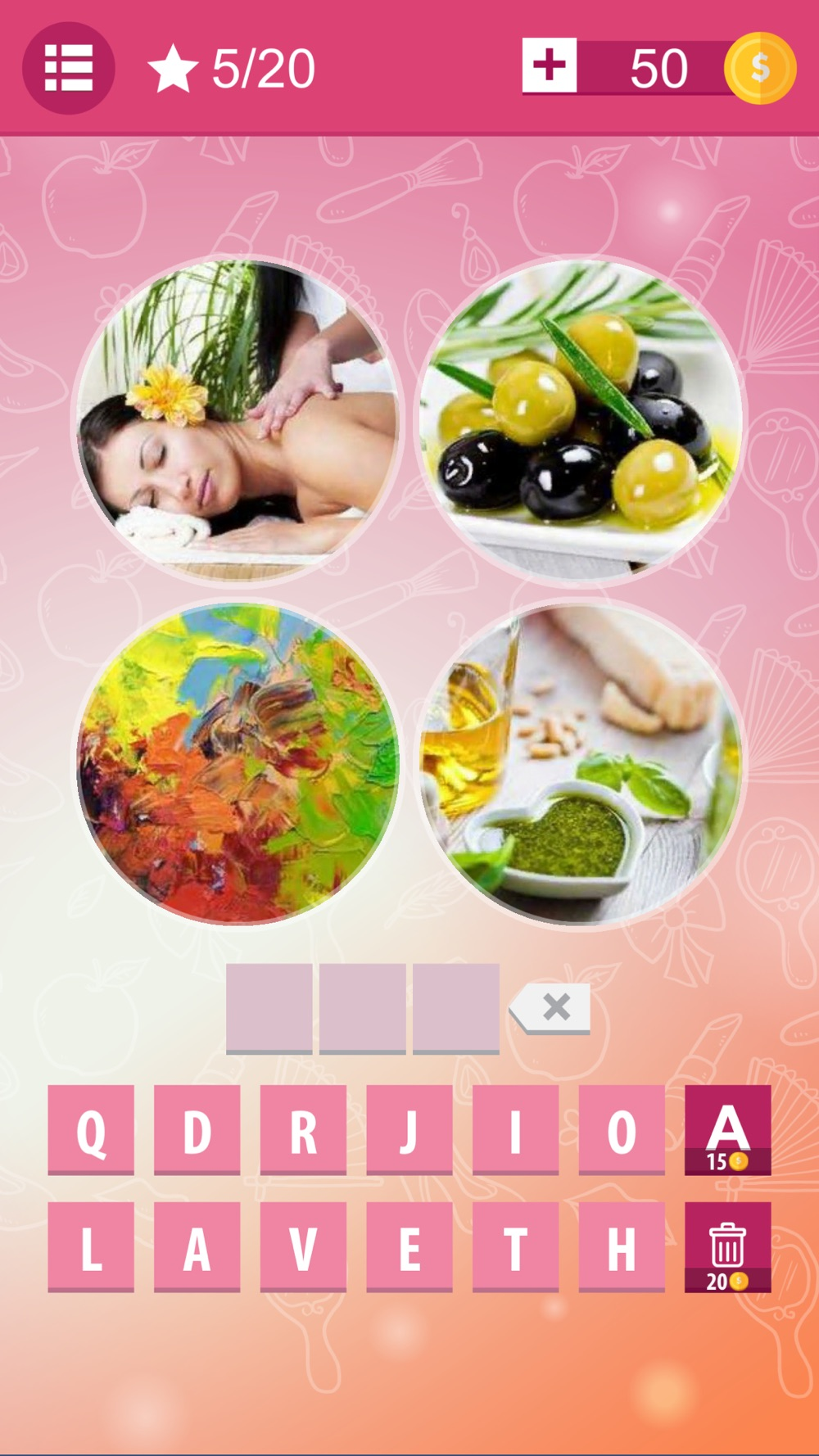 4 Pics 1 Word Photo Quiz - new Pictures and Levels hack tool