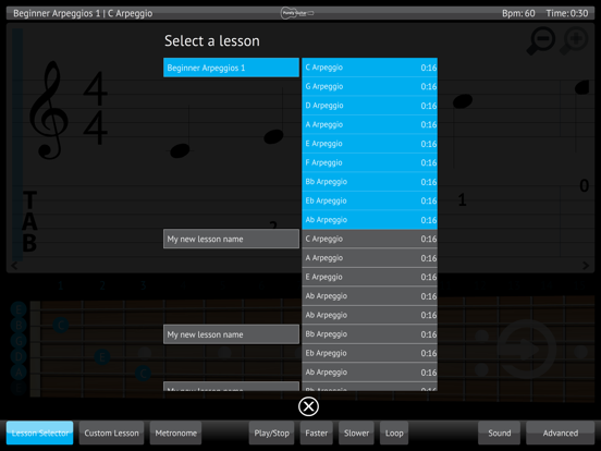 Learn & Practice Acoustic Guitar Lessons Exercises screenshot four