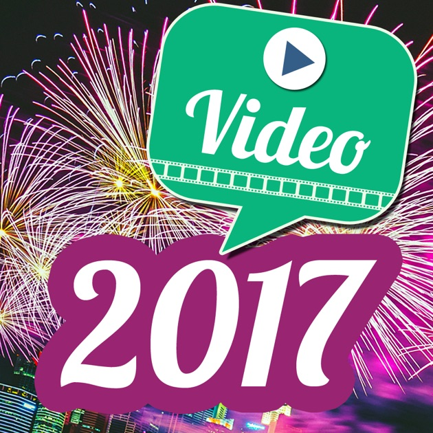 Video greetings 2017 happy new year messages on the app store m4hsunfo