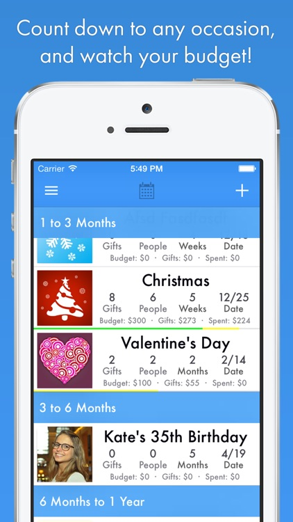 GiftPlanner - Christmas List Organizer screenshot-4