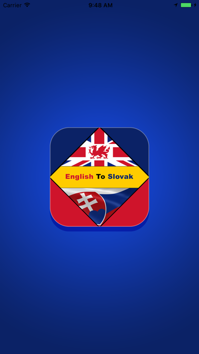 English To Slovak Dictionary Offline screenshot one