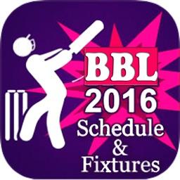 BBL T20 2016/2017 Fixtures,Schedule,Live Score