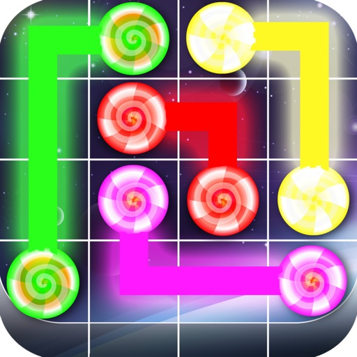 Glow Dots! - By Top Free Kids Games+ icon