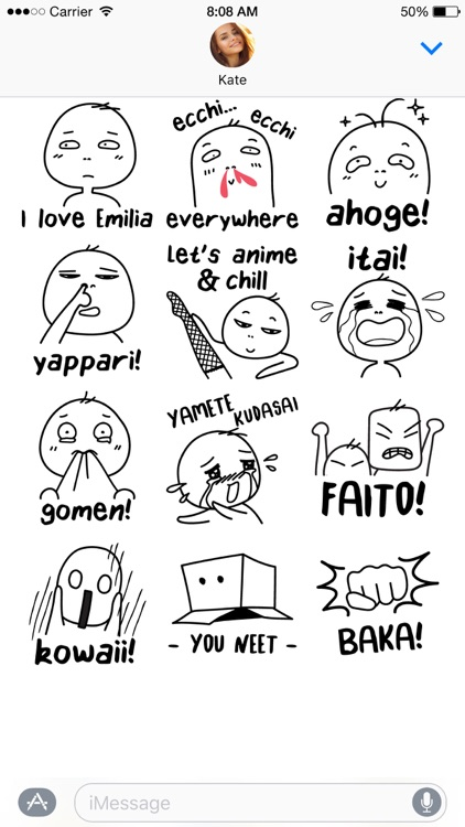Otaku Lingo stickers screenshot-4