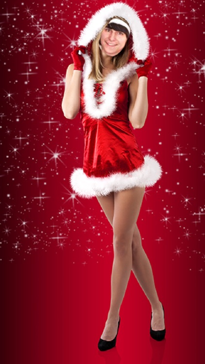 Photomontage with Santa Claus in Christmas screenshot-3