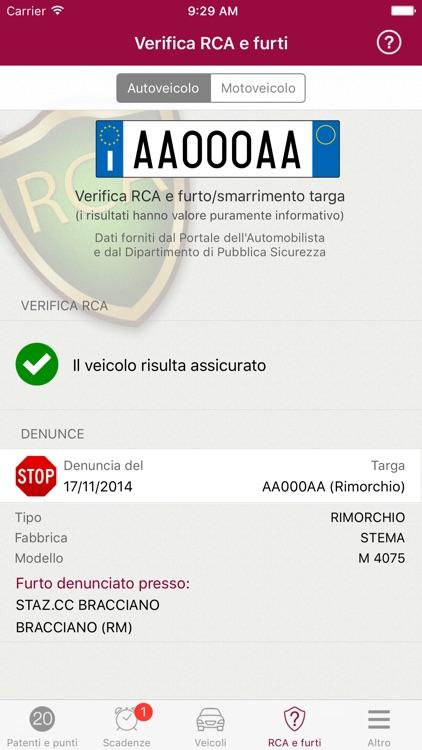 Punti Patente screenshot-3