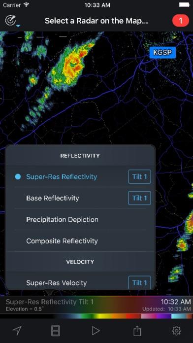 RadarScope screenshot three