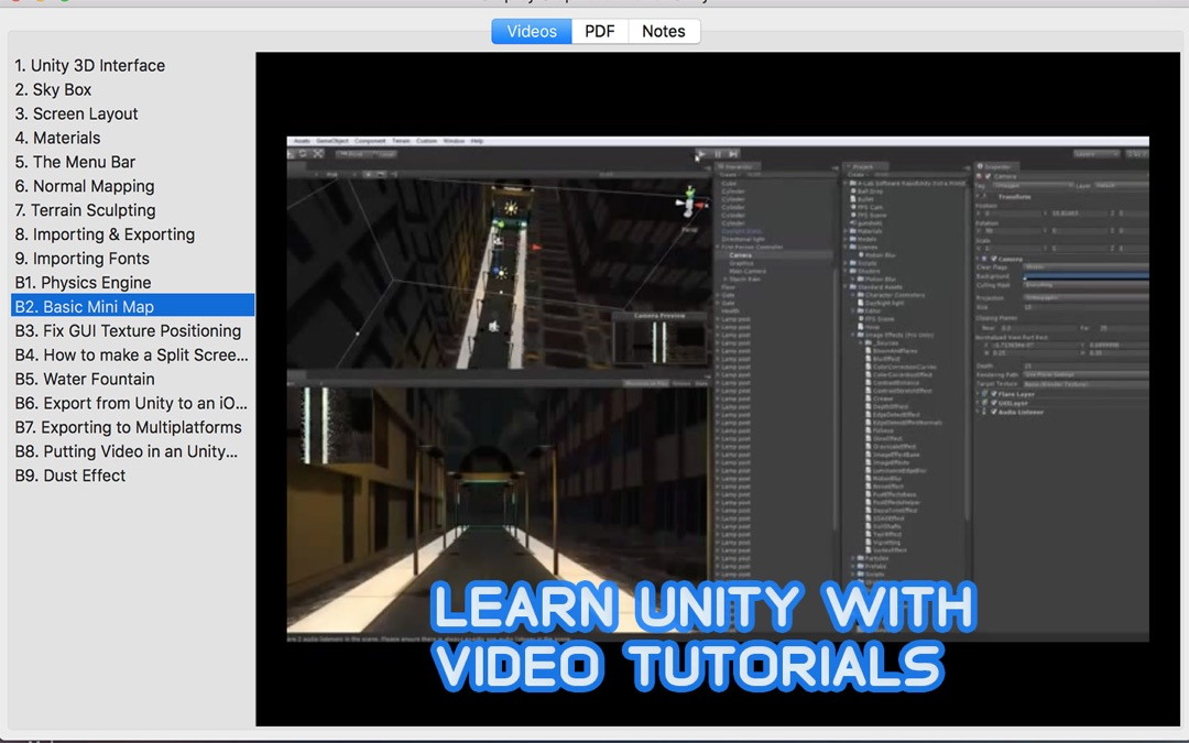Step by Step Tutorials for Unity Game Development - Online