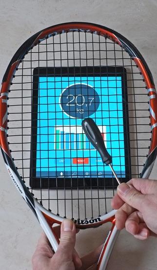 Screenshot for RacquetTune in Chile App Store