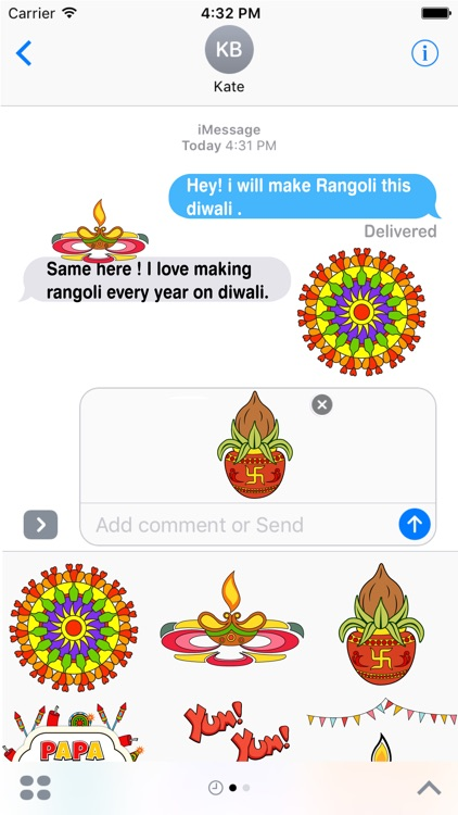 Diwali Greetings - Festival of Lights Stickers screenshot-3