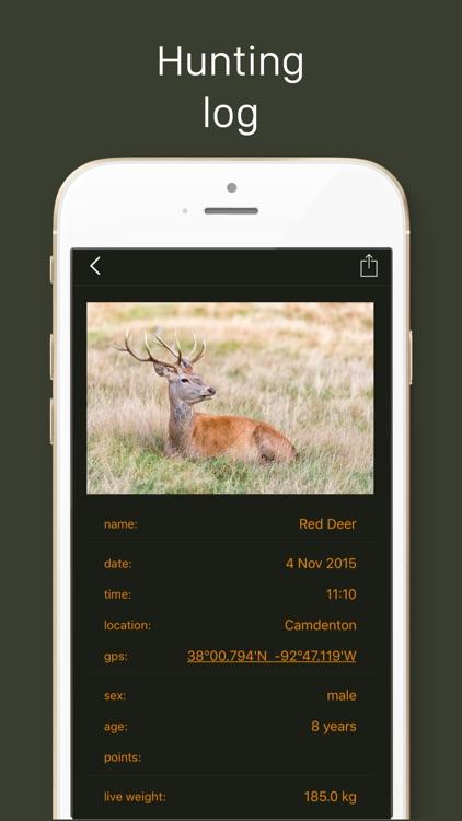 Hunting Calendar LT, best hunting times