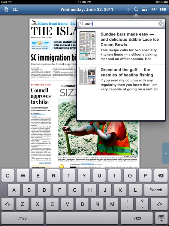 The Island Packet E-Edition screenshot-1