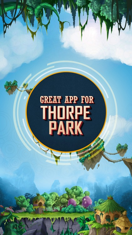 Great App for Thorpe Park