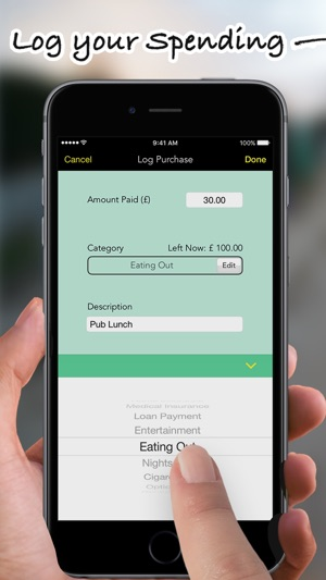 Budgets Pro - Expense Tracker Screenshot