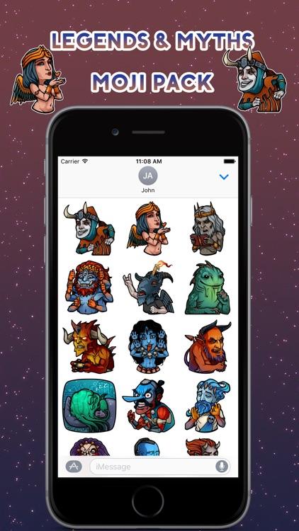 Halloween Legends Emoji Stickers - for iMessage